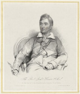 Richard Warner, by Louis Haghe, printed by  Day & Haghe, after  Stephen Catterson Smith - NPG D37845