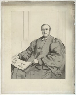 Edmond Warre, probably by Thomas Lewis Atkinson, probably after  Francis Holl - NPG D37846