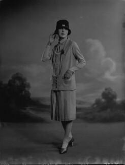 Iris Austin, by Lafayette (Lafayette Ltd), 28 January 1927 - NPG x74791 - © National Portrait Gallery, London