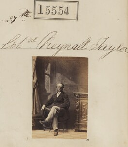 Reynell George Taylor, by Camille Silvy - NPG Ax63486
