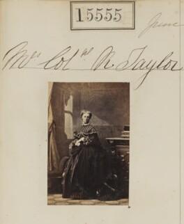 Ann Taylor (née Holdsworth), by Camille Silvy - NPG Ax63487
