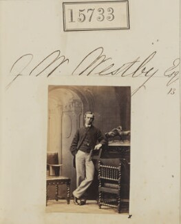 John Wright Westby, by Camille Silvy - NPG Ax63660