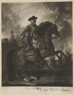 John Ligonier, 1st Earl Ligonier, by and sold by Edward Fisher, after  Sir Joshua Reynolds - NPG D37335