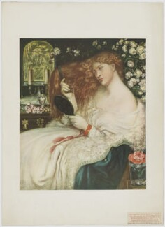 Fanny Cornforth (née Sarah Cox) ('Lady Lilith'), published by The Medici Society Ltd, after  Dante Gabriel Rossetti, published 1908 (1867) - NPG  - © National Portrait Gallery, London