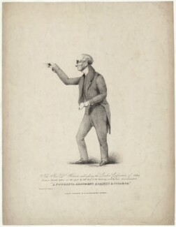 Samuel Warren, printed by T. Physick, published by  Ackermann & Co, after  J.W. Thomas - NPG D37857