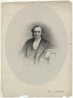 Edward Warter, by Charles Baugniet, after  William W. Nicol - NPG D37858
