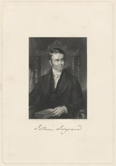 John Lingard, by Lumb Stocks, after  Samuel Lover - NPG D37350