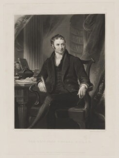 John Lingard, by Henry Cousins, published by  Agnew & Zanetti, published by  Francis Graves & Co, after  James Lonsdale - NPG D37352