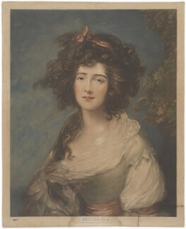 Elizabeth Ann Sheridan (née Linley), after Thomas Gainsborough, (1785-1787) - NPG D37355 - © National Portrait Gallery, London