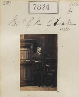 Edward Neville Crake, by Camille Silvy - NPG Ax57663