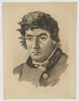 Thomas Liscombe (Luscombe), by Frederick Christian Lewis Sr, published by  Thomas Palser, after  William Brockedon - NPG D37358