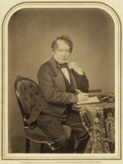John Baldwin Buckstone, by Maull & Polyblank - NPG x14251