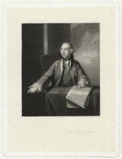Francis Greville, 1st Earl of Warwick and Brooke, by Robert Bowyer Parkes, after  Sir Joshua Reynolds - NPG D37863