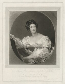 Hyacinthe Mary Littleton (née Wellesley), Lady Hatherton, by Charles Turner, printed by  Lahee & Co, published by  Colnaghi, Son & Co, after  Sir Thomas Lawrence - NPG D37371