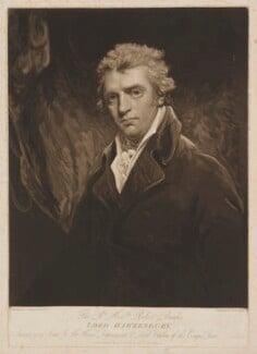 Robert Banks Jenkinson, 2nd Earl of Liverpool, by Henry Meyer, published by  Robert Cribb, after  John Hoppner - NPG D37372
