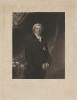 Robert Banks Jenkinson, 2nd Earl of Liverpool, by John Richardson Jackson, published by  Henry Graves & Co, after  Sir Thomas Lawrence - NPG D37373