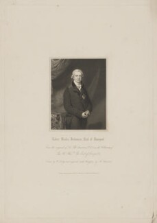 Robert Banks Jenkinson, 2nd Earl of Liverpool, by John Henry Robinson, published by  Harding & Lepard, after  William Derby, after  Sir Thomas Lawrence - NPG D37374