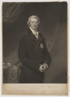 Robert Banks Jenkinson, 2nd Earl of Liverpool, by Charles Turner, after  Sir Thomas Lawrence - NPG D37375