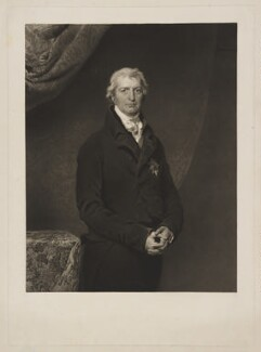 Robert Banks Jenkinson, 2nd Earl of Liverpool, by Charles Turner, after  Sir Thomas Lawrence - NPG D37376