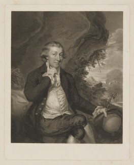 John Lloyd, by James Heath, after  Daniel Gardner - NPG D37381