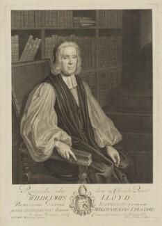 William Lloyd, by George Vertue, after  Friedrich Wilhelm Weidemann, 1714 - NPG D37384 - © National Portrait Gallery, London