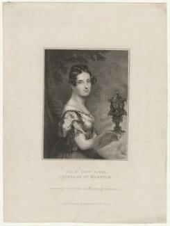 Sarah Elizabeth Greville (née Savile), Countess of Warwick, by John Cochran, published by  Edward Bull, after  Sir George Hayter - NPG D37872