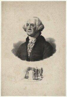 George Washington, after Gilbert Stuart - NPG D37874