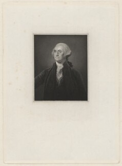 George Washington, after Gilbert Stuart - NPG D37875