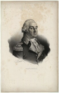 George Washington, by Antoine Maurin, printed by  François Séraphin Delpech, 19th century - NPG D37876 - © National Portrait Gallery, London