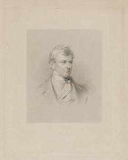 James Loch, by James Posselwhite, printed by  Dixon & Ross, after  George Richmond - NPG D37393