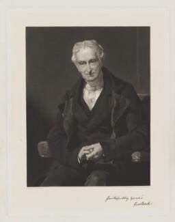 George Lock, by John Richardson Jackson, after  John Prescott Knight - NPG D37396