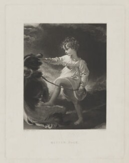 William Lock, by William Humphrys, after  Sir Thomas Lawrence - NPG D37399