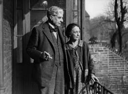 Walter Richard Sickert; Thérèse Lessore, by George Woodbine, for  Daily Herald - NPG x74798