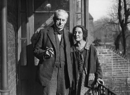 Walter Richard Sickert; Thérèse Lessore, by George Woodbine, for  Daily Herald, 5 March 1934 - NPG x74799 - © Science & Society Picture Library / National Portrait Gallery, London