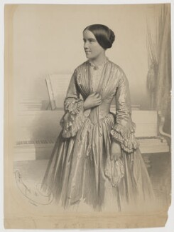 Kate Fanny Loder, by Charles Baugniet, printed by  Day & Son, published by  Addison & Co - NPG D37404