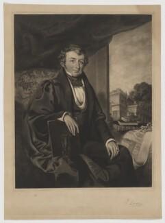 John Lodge, by James Egan, published by  J. Dimmock, after  Frederick Walmisley - NPG D37405