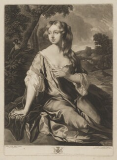 Lucy Loftus (née Brydges), Viscountess Lisburne, by Charles Townley, published by  John Boydell, after  Josiah Boydell, after  Sir Peter Lely - NPG D37406