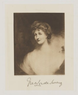 Grace Augusta Denison (née Fane), Countess of Londesborough, by Frederick John Jenkins, after  Henry Harris Brown - NPG D37408
