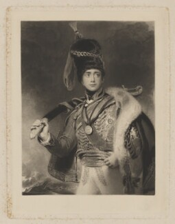 Charles William Vane-Stewart, 3rd Marquess of Londonderry, by William Henry Simmons, after  Sir Thomas Lawrence - NPG D37416