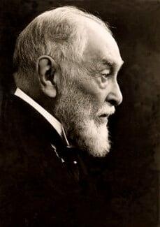 Frederic Harrison, by George Charles Beresford - NPG x17423