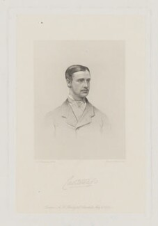 Charles Stewart Vane-Tempest-Stewart, 6th Marquess of Londonderry, by Joseph Brown, published by  A.H. Baily & Co, after  Alexander Bassano - NPG D37421
