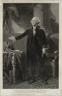 George Washington, published by James Heath, after  Gilbert Stuart - NPG D37879