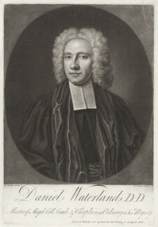 Daniel Waterland, by John Faber Jr, sold by  Richard Manby, after  Richard Phillips - NPG D37885