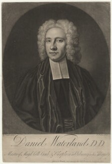 Daniel Waterland, by John Faber Jr, sold by  Richard Manby, after  Richard Phillips - NPG D37886