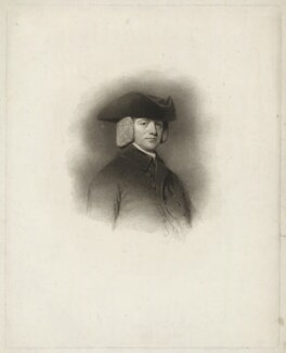 Richard Watson, by Henry Meyer, published by  T. Cadell & W. Davies, after  William Evans, after  George Romney - NPG D37892