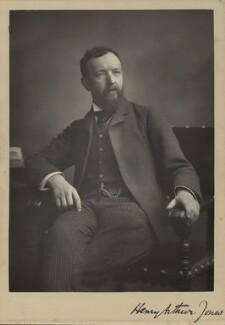 Henry Arthur Jones, by Walery - NPG x132948