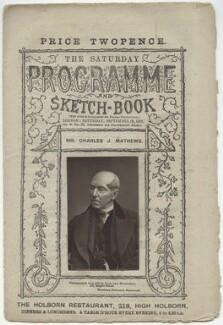 Charles James Mathews, by Lock & Whitfield - NPG x132950