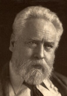 William Ernest Henley, by George Charles Beresford - NPG x18410