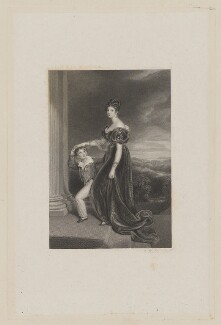 George Vane-Tempest, 5th Marquess of Londonderry when Viscount Seaham; Frances Anne Vane, Marchioness of Londonderry, by Charles Rolls, after  Sir Thomas Lawrence - NPG D37423