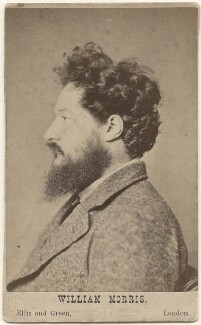 William Morris, by John Robert Parsons, published by  Ellis & Green - NPG x3765